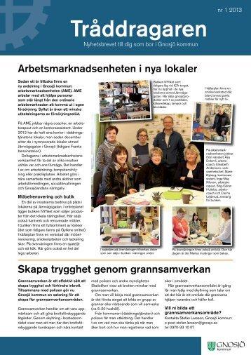 Tråddragaren 2013 - nr 1.pdf - Gnosjö kommun