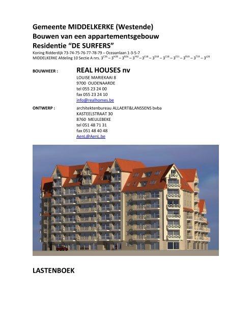 Bouwen van een appartementsgebouw Residentie ... - Immo L'Atelier