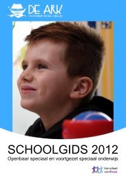 Schoolgids pdf - ZMLK de Ark