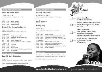 14mei - Jazz Festival Enkhuizen
