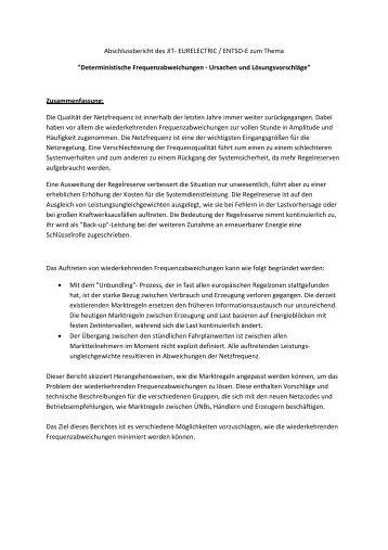 Deutsche Zusammenfassung Dr Michael Ebner