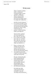 Til den eneste - Henrik Ibsens skrifter