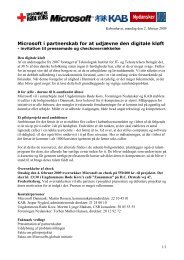 Microsoft i partnerskab for at udjævne den digitale kløft
