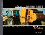 Ound bale round baler - Challenger