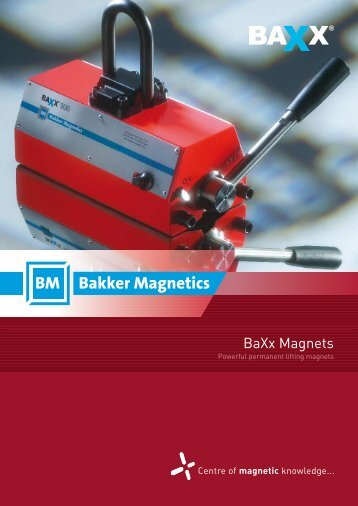 BaXx Magnets - Bakker Magnetics