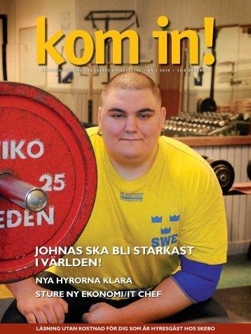 JohnaS Ska bLi StarkaSt i vÄrLDen! - Skebo