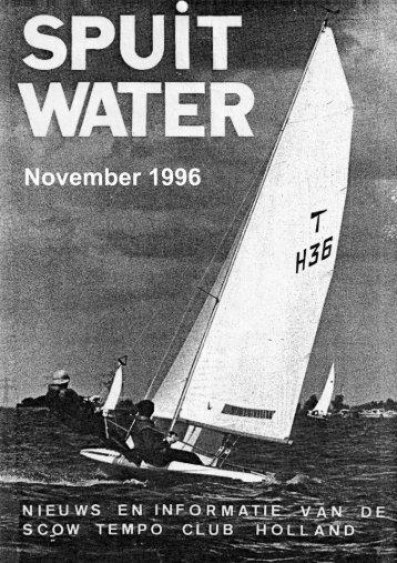 Spuitwater 11/1996 - Hartelijk welkomen bij de Scow-Tempo-Zeilers!