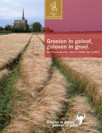 Beleidsnota 2009 - Parochie Maria Geboorte Nijmegen
