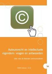 Brochure COMM 20 N - Fedweb - Belgium