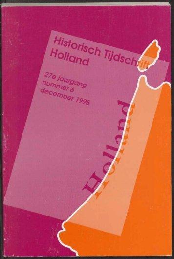 Archeologische Kroniek 1994 - Geschiedenis van Zuid-Holland