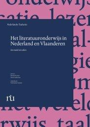 Het literatuuronderwijs in Nederland en Vlaanderen - Taalunieversum