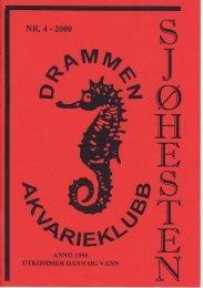Sjøhesten nr. 4-2000.pdf - Norsk Akvarieforbund