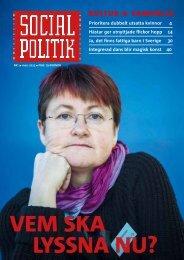Ladda ner nr 1, 2013 av Socialpolitik, (pdf-fil)