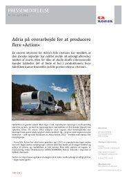 Action - ADRIA DANMARK