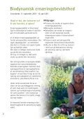 Jorden kalder - Foreningen for Biodynamisk Jordbrug - Page 2