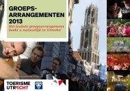 Download brochure - Groepsarrangementen Utrecht