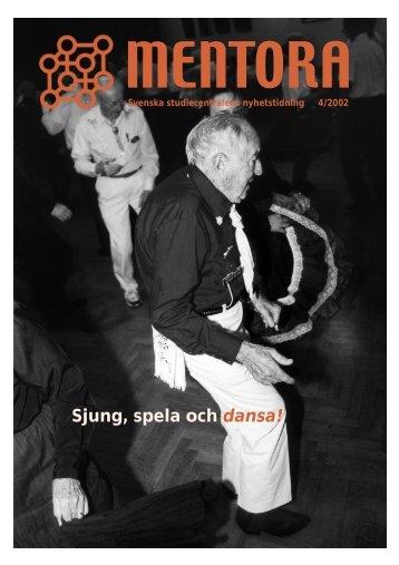Sjung, spela och dansa! - Svenska studiecentralen