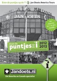 puntjes - Jan Doets America Tours
