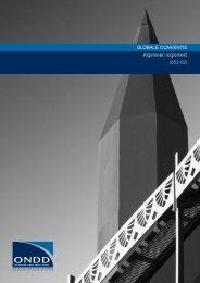GLOBALE CONVENTIE Algemeen reglement (652-02) - ONDD