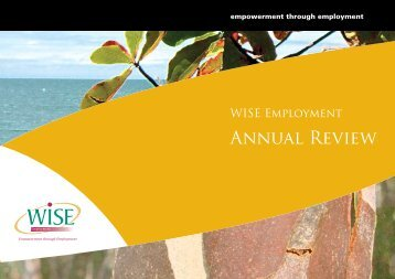 Annual Review - WISE Employment