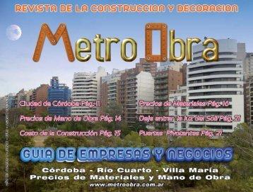 Revista MetroObra