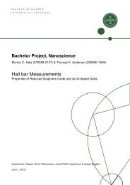 Hall bar Measurements