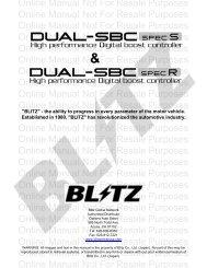 Dual SBC Spec R & S - Blitz