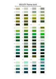 Farverne er kun vejledende. Rekvirerer farvekort på tlf. 9715 6333