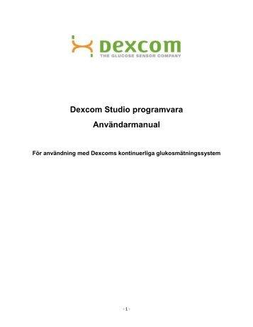 Dexcom Studio User's Guide