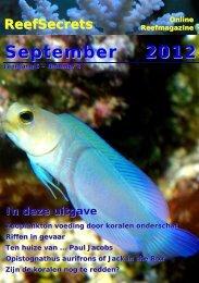 September 2012 - ReefSecrets
