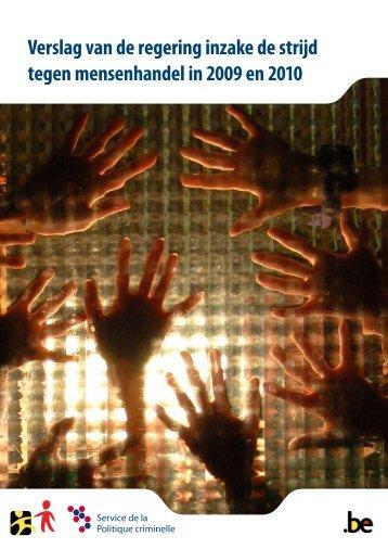Verslag van de regering inzake de strijd tegen mensenhandel in ...