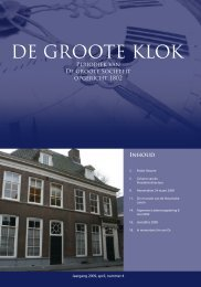 april 2009 - de Groote Sociëteit Zwolle