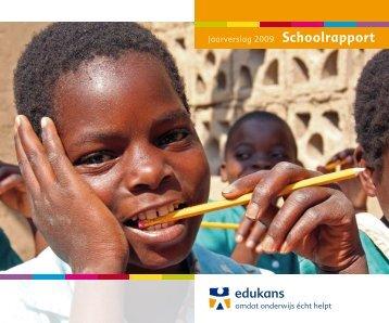 Jaarverslag 2009 Schoolrapport - CBF