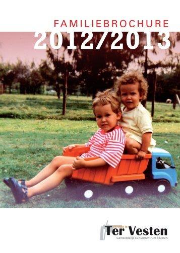 Familiebrochure 2012-2013 - CC Ter Vesten Beveren