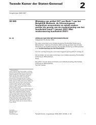 Verslag wetgevingsoverleg van 23 oktober 2006 over ...