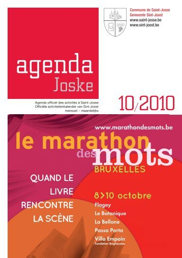 25 au 31 octobre 2010 - Saint-Josse-ten-Noode