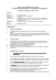 Vastgesteld verslag 30-11-2006 - Stadsdeel Amsterdam-Noord