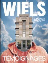WIELS Témoignages / Getuigenissen (.pdf)