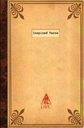 Inspired Verse - All Things Uru