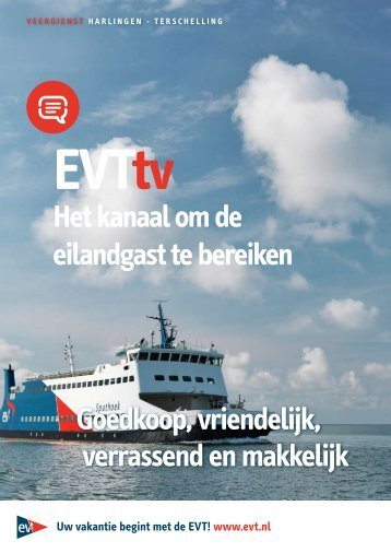 Download de informatie brochure EVTtv
