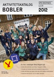 Bobler-kataloget - Spejdernes Lejr 2012