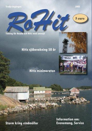 RoHit 2005 (pdf-fil) - Kimitoön kommun