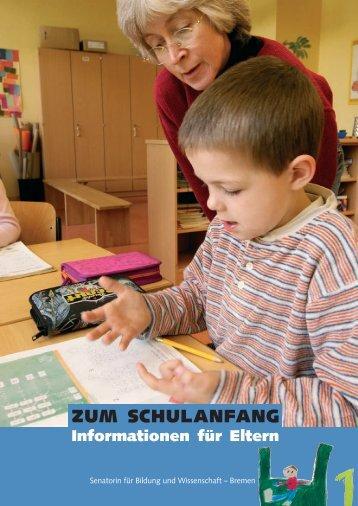 Zum Schulanfang - Weser Kurier
