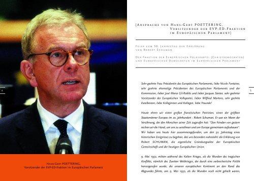 Déclaration Schuman - DE