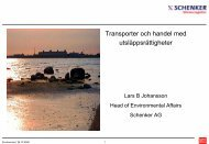 Lars B Johansson - GAME – Göteborg Action for Management of the ...