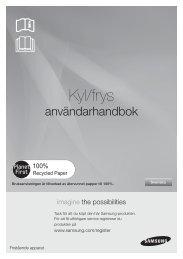 Samsung RL-55 VEBIH Fridge Freezer Operating Instructions User ...
