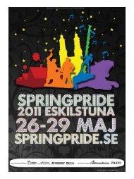 Hela denna tidning är en annons från sPringPride - RFSL