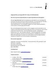 Projectplan Geo-info to-go - handhaving - definitief - zonder begroting