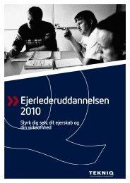 Ejerlederuddannelsen 2010