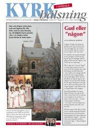 Kyrkhälsning 2003 nr 4 - Svedala församling